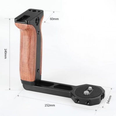 Рукоятка SmallRig 2222 Universal Wooden Handle для RoninS/Zhiyun Crane